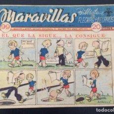 Tebeos: TEBEO COMIC MARAVILLAS BIBLIOTECA FLECHAS Y PELAYOS Nº 99. 31 DE JULIO DE 1941. 20 CTS. Lote 216597922
