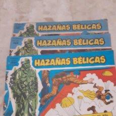 Tebeos: LOTE DE 3 EJEMPLARES DE LA PUBLICACION HAZAÑAS BELICAS DE 1965. Lote 217685846