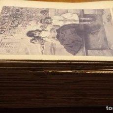 Tebeos: LOTE DE 94 UNIDADES DE LA COLECCIÓN GENTE MENUDA. PERIÓDICO INFANTIL. 1907-1908. Lote 217893810