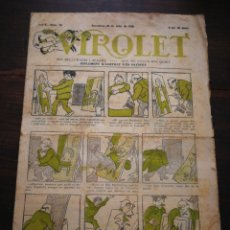 Tebeos: VIROLET- SUPLEMENT IL.LUSTRAT D'EN PATUFET, ANY I, N°23, 1922.. Lote 217998948