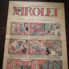 Tebeos: VIROLET- SUPLEMENT IL.LUSTRAT D'EN PATUFET, ANY II, N°99, 1923.. Lote 217999062