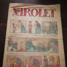 Tebeos: VIROLET- SUPLEMENT IL.LUSTRAT D'EN PATUFET, ANY II, N°102, 1923.. Lote 217999276