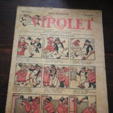 Tebeos: VIROLET- SUPLEMENT IL.LUSTRAT D'EN PATUFET, ANY I, N°7, 1922.. Lote 217999496