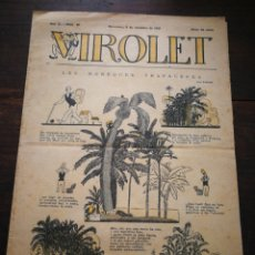 Tebeos: VIROLET- SUPLEMENT IL.LUSTRAT D'EN PATUFET, ANY II, N°88, 1923.. Lote 217999762