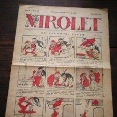 Tebeos: VIROLET- SUPLEMENT IL.LUSTRAT D'EN PATUFET, ANY II, N°97, 1923.. Lote 217999901