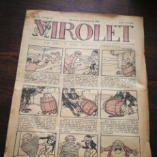 Tebeos: VIROLET- SUPLEMENT IL.LUSTRAT D'EN PATUFET, ANY II, N°91, 1923.. Lote 218000068