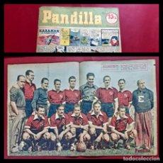 Tebeos: SEMANARIO DE HISTORIETAS FAMOSAS PANDILLA. Nº 30 -1945. POSTER INDEPENDIENTES. Lote 218012632