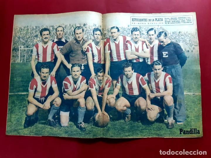 Tebeos: HISTORIETAS FAMOSAS PANDILLA. Nº 29 .-1945. POSTER ESTUDIANTES DE LA PLATA - Foto 3 - 218012923