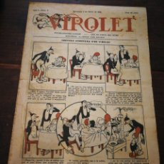Tebeos: VIROLET- SUPLEMENT IL.LUSTRAT D'EN PATUFET, (PORTADA OPISSO) ANY I, N°5, 1922.. Lote 218022187