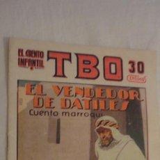Tebeos: TBO.EL CUENTO INFANTIL.EL VENDEDOR DE DATILES.Nº 9 BARCELONA 1936. Lote 218046238