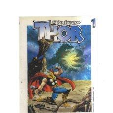 Tebeos: THOR EL PODEROSO GRANDES HEROES DEL COMIC BIBLIOTECA EL MUNDO N,1,2,3 COMPLETA. Lote 218101790