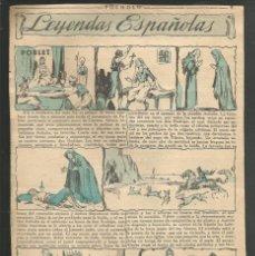 Tebeos: HISTORIA DE ESPAÑA - LEYENDAS ESPAÑOLA - RECORTE DE LA REVISTA INFANTIL POCHOLO. Lote 218246783