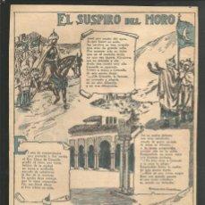 Tebeos: HISTORIA DE ESPAÑA - EL SUSPIRO DEL MORO - RECORTE REVISTA INFANTIL POCHOLO. Lote 218260396
