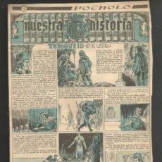Tebeos: HISTORIA DE ESPAÑA - ENRIQUE III REY DE CASTILLA - RECORTE REVISTA INFANTIL POCHOLO. Lote 218263071