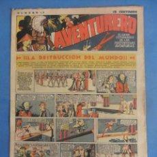 Tebeos: AVENTURERO Nº 17 HISPANO AMERICANA AÑOS 1935. Lote 218385315