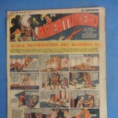 Tebeos: AVENTURERO Nº 18 HISPANO AMERICANA AÑO 1935. Lote 218385408