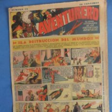 Tebeos: AVENTURERO Nº 19 HISPANO AMERICANA AÑO 1935. Lote 218385457