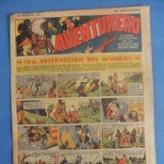 Tebeos: AVENTURERO Nº 20 HISPANO AMERICANA AÑO 1935. Lote 218385538