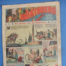 Tebeos: AVENTURERO Nº 64 HISPANO AMERICANA AÑO 1936. Lote 218386313