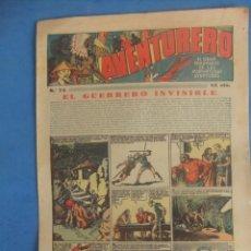 Tebeos: AVENTURERO Nº 75 HISPANO AMERICANA AÑO 1936. Lote 218386545