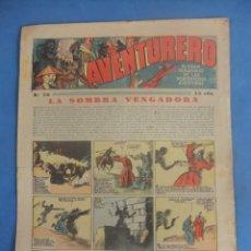 Tebeos: AVENTURERO Nº 76 HISPANO AMERICANA AÑO 1936. Lote 218386591