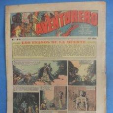 Tebeos: AVENTURERO Nº 80 HISPANO AMERICANA AÑO 1936. Lote 218386793