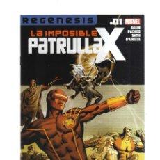 Tebeos: PATRULLA - X LA IMPOSIBLE REGENESIS N,01. Lote 218496531