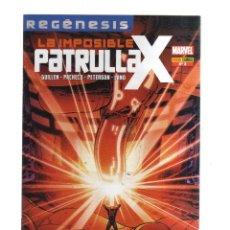 Tebeos: PATRULLA - X - LA IMPOSIBLE N,2 REGENESIS. Lote 218496701