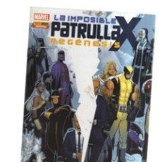 Tebeos: PATRULLA - X LA IMPOSIBLE ESPECIALREGENESIS. Lote 218496845