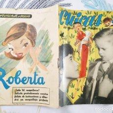 Tebeos: CHICAS LA REVISTA DE LOS 17 AÑOS 1953 N.º 135 ILUSTRA MINGOTE GAYO FELIX PUENTE MORO.... Lote 218520416
