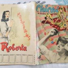 Tebeos: CHICAS LA REVISTA DE LOS 17 AÑOS 1952 N.º 83 ILUSTRA PADILLA GAYO F. BERNAL MORO.... Lote 218520545