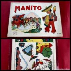Tebeos: MANITO Y LA DILIGENCIA - EDITORIAL ARPA, AÑOS 40 - TAMAÑO 21'5X31'5 EXCELENTE ESTADO. Lote 218809930