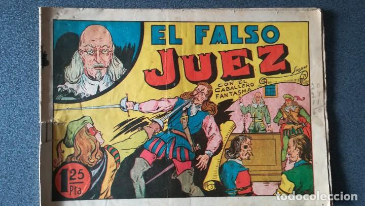 EL CABALLERO FANTASMA. EL FALSO JUEZ (Tebeos y Comics - Tebeos Otras Editoriales Clásicas)