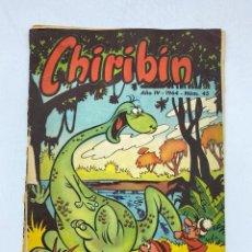 Tebeos: CHIRIBIN. REVISTA QUINCENAL INFANTIL. AÑO IV. 1964. NUMERO 45. VER FOTOS. Lote 219491668