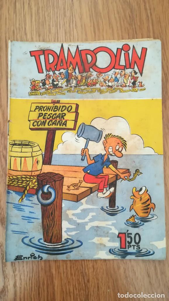 TRAMPOLÍN Nº 55 3ª ÉPOCA (Tebeos y Comics - Tebeos Otras Editoriales Clásicas)