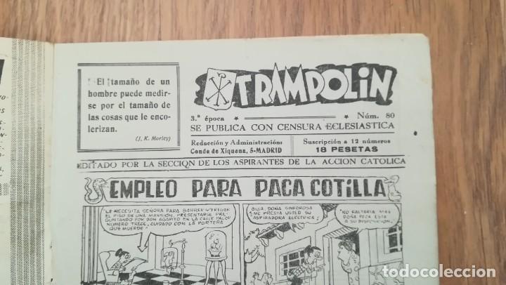 Tebeos: Trampolín nº 80 3ª época - Foto 3 - 219632777