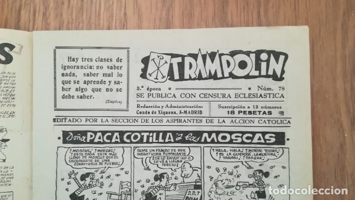 Tebeos: Trampolín nº 78 - Foto 3 - 219633193