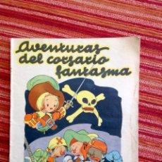 Livros de Banda Desenhada: AVENTURAS DEL CORSARIO FANTASMA-PUBLICACIONES CINEMA BARCELONA-AÑOS 30. Lote 220096351