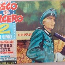 Livros de Banda Desenhada: CASCO DE ACERO Nº 14. ORIGINAL. EDICIONES MANHATTAN 1961. Lote 220784072