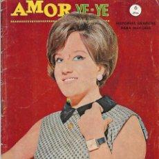 Tebeos: AMOR YE YE Nº 23,VERTICE 1965, PG FOTO JOHN LENNON,BUEN ESTADO -IMPORTANTE- LEER TODO. Lote 221151273