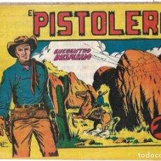Tebeos: EL PISTOLERO Nº 13, ORIGINAL, ANDALUZA 1961 --IMPORTANTE LEER TODO. Lote 221293061