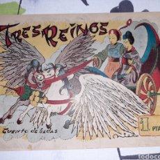 Livros de Banda Desenhada: CUENTO DE HADAS, TRES REINOS. Lote 221293100
