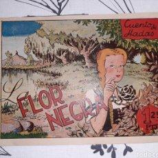 Livros de Banda Desenhada: LA FLOR NEGRA, CUENTO DE HADAS, EDITORIAL FANTASIO. Lote 221345193