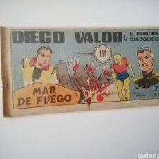 Livros de Banda Desenhada: CÓMIC DIEGO VALOR N 111 PRIMERA ÉPOCA. Lote 221383472
