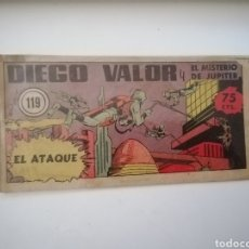 Livros de Banda Desenhada: CÓMIC DIEGO VALOR N 119 PRIMERA ÉPOCA. Lote 221384586