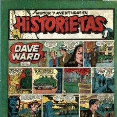 """Livros de Banda Desenhada: HISTORIETAS-5 (GOÑI, 1950) CON """"DAVE WARD"""" DE TOUTAIN EN PORTADA. Lote 221512826"""