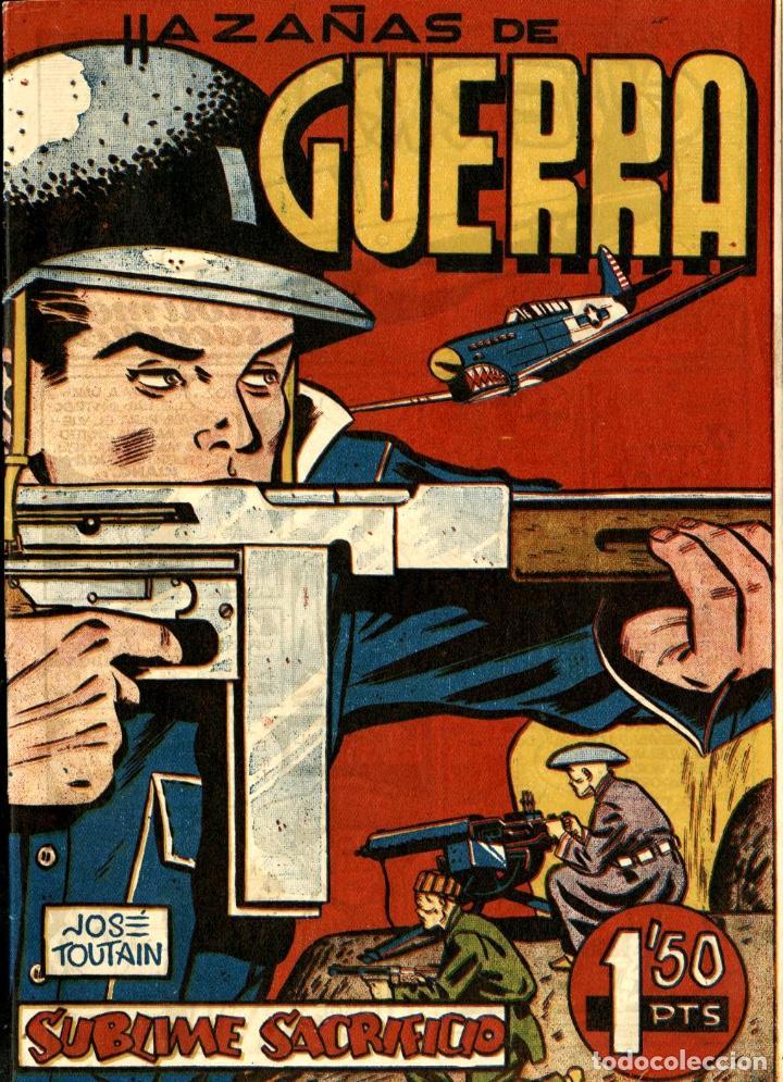 HAZAÑAS DE GUERRA (DE HARO, 1952) DE JOSEP TOUTAIN (Tebeos y Comics - Tebeos Otras Editoriales Clásicas)