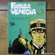 Tebeos: HUGO PRATT - FÁBULA DE VENECIA - 1987 - CORTO MALTÉS - TÓTEM. Lote 221577855