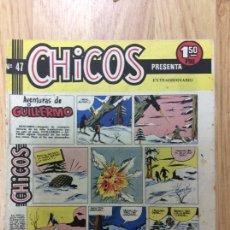 Tebeos: CHICOS NÚMERO 47 EDITORIAL CID. Lote 221585165