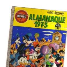 Tebeos: DUMBO ALMANAQUE 1973 WALT DISNEY N,95. Lote 221668832